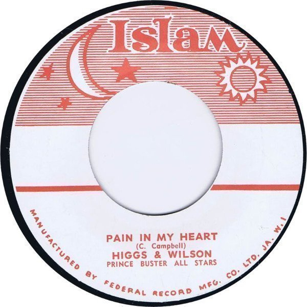 Prince Buster - Pain In My Heart / To Spend An Evening