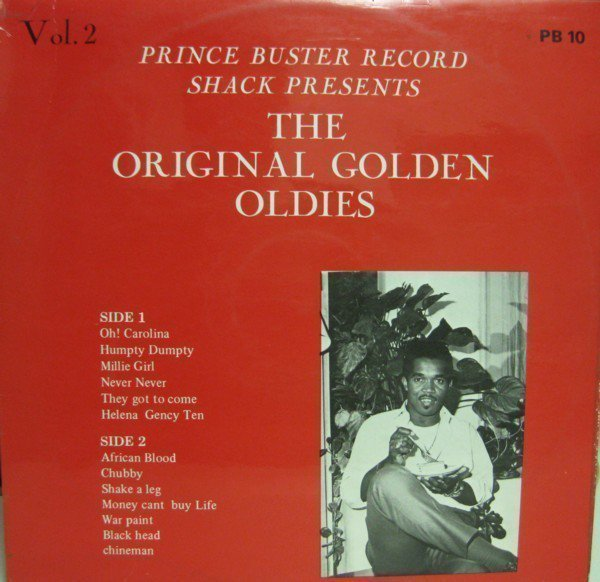 Prince Buster - Prince Buster Record Shack Presents The Original Golden Oldies Vol. 2
