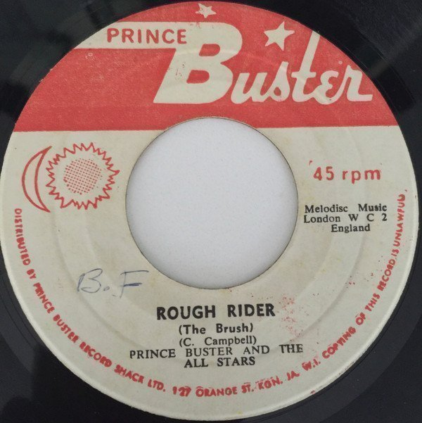 Prince Buster - Rough Rider (The Brush) / Evening News