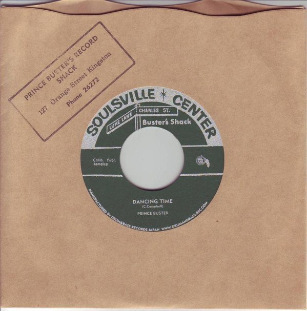 Prince Buster - Seven Wonders Of The World / Dancing Time