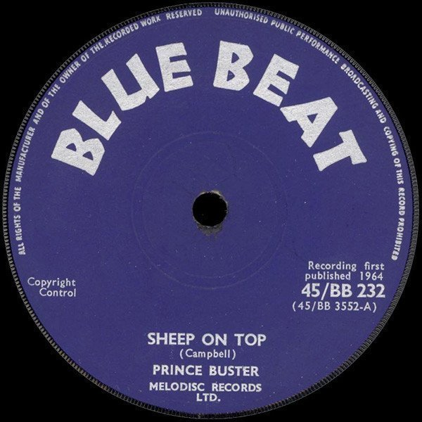 Prince Buster - Sheep On Top / Midnight