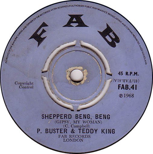 Prince Buster - Shepperd Beng, Beng (Gipsy, My Woman) / Ride You Donkey