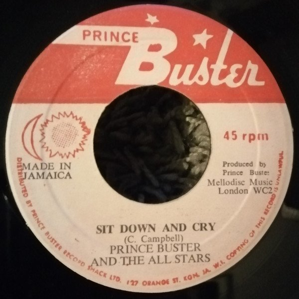 Prince Buster - Sit Down And Cry /  Judge Dread