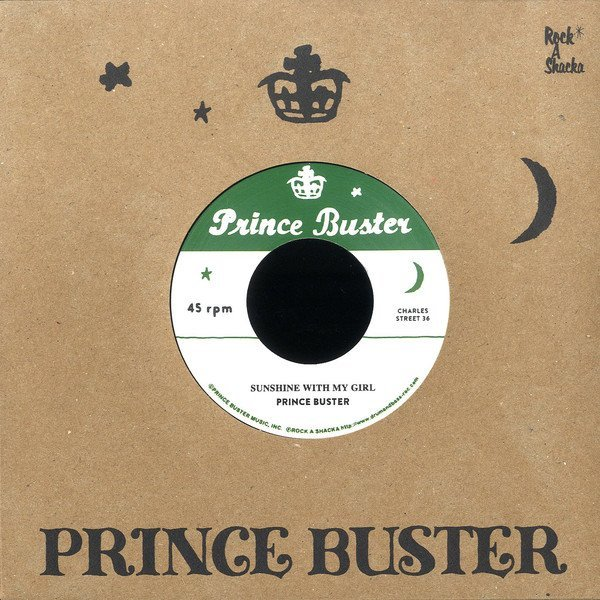 Prince Buster - Sunshine With My Girl / Vietnam (Unreleased)
