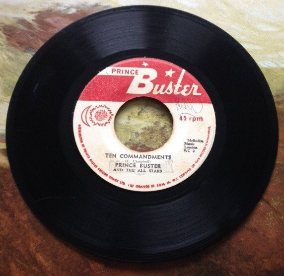Prince Buster - Ten Commandments / Me & My Forty-Five