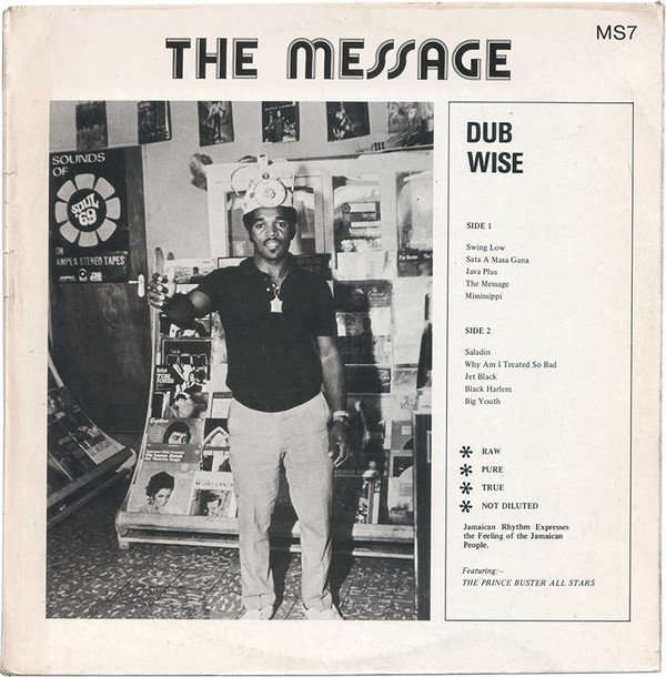 Prince Buster - The Message Dub Wise