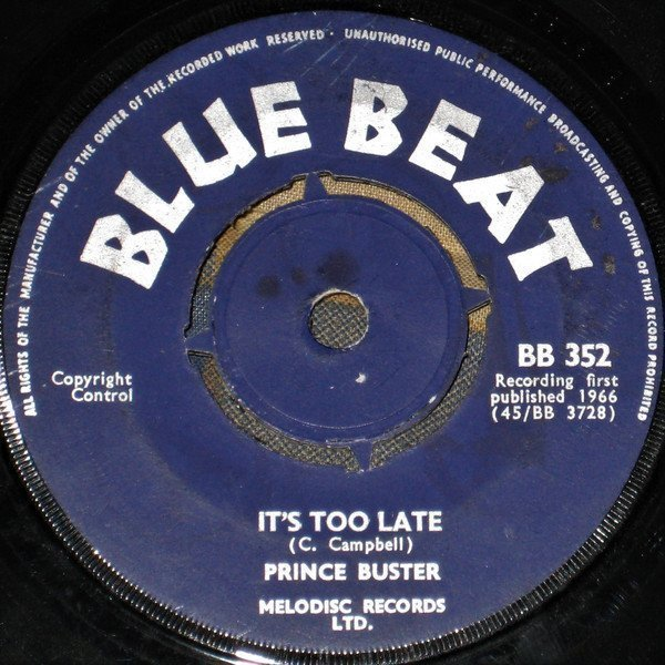 Prince Buster - The Prophet / Bump And Bore