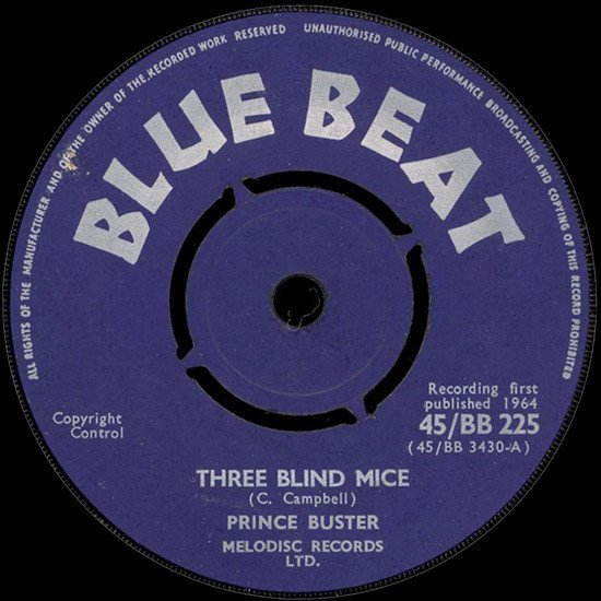Prince Buster - Three Blind Mice / I Know