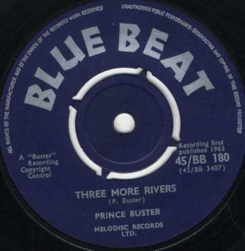 Prince Buster - Three More Rivers / African Blood