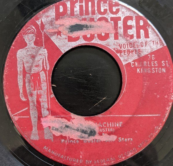 Prince Buster - Time Machine / George Is A Fake
