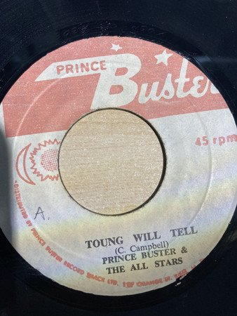 Prince Buster - Toung Will Tell / Over And Over