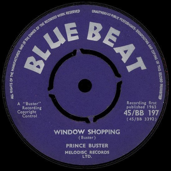 Prince Buster - Window Shopping / Sodom And Gomorrah