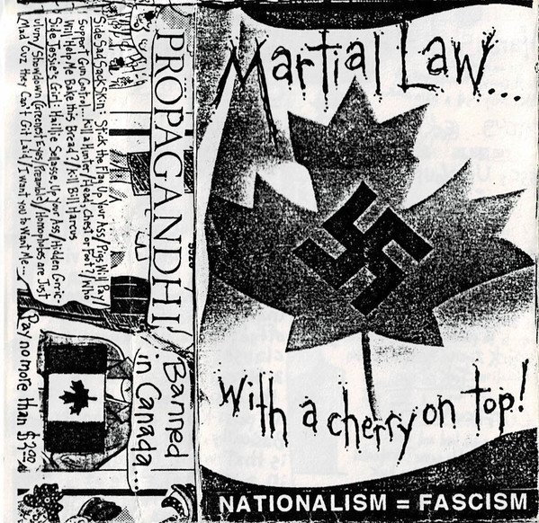 Propagandhi - Martial Law... With A Cherry On Top!
