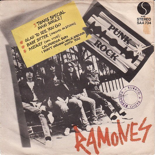Ramones - Glad To See You Go