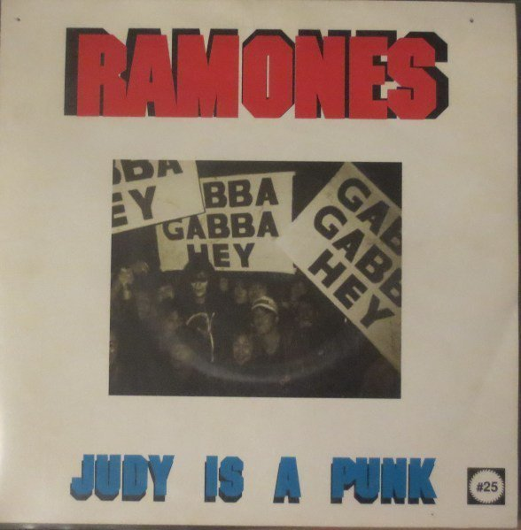 Ramones - Judy Is A Punk / Human Being