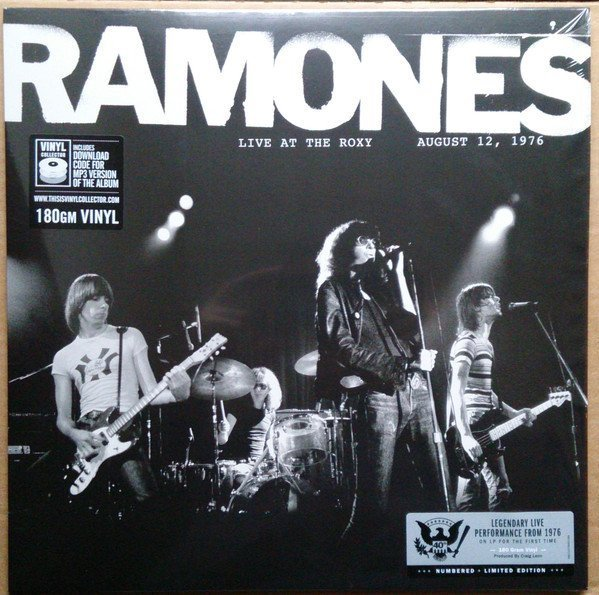 Ramones - Live At The Roxy August 12, 1976
