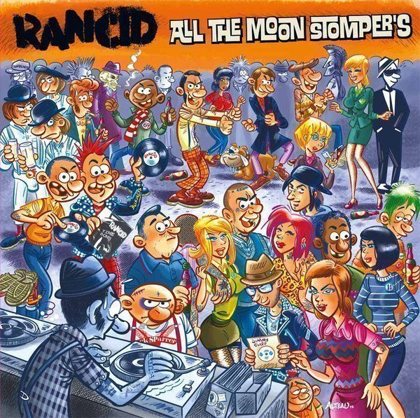 Rancid/the Silencers - All The Moon Stomper