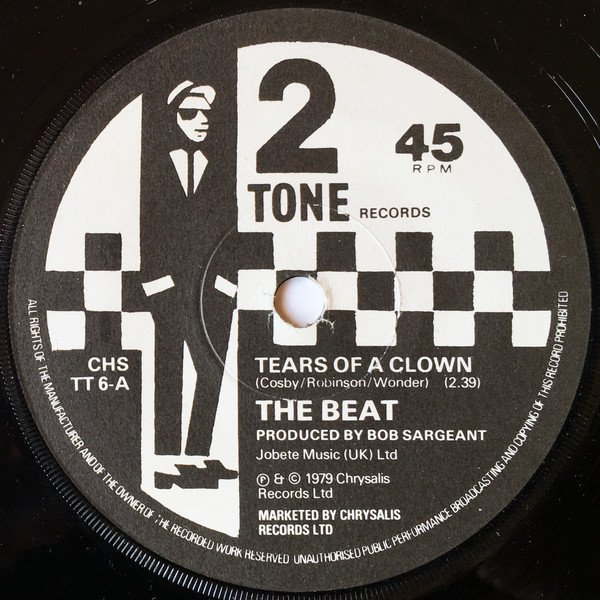Ranking Roger And Pato - Tears Of A Clown / Ranking Full Stop