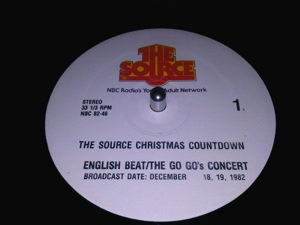 Ranking Roger And Pato - The Source Christmas Countdown: English Beat / The Go Go
