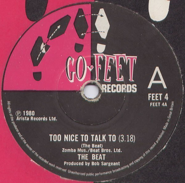 Ranking Roger And Pato - Too Nice To Talk To