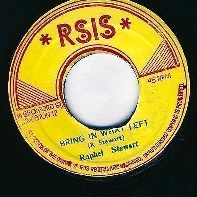 Raphael Stewart And The Hot Tops - Bring In What Left