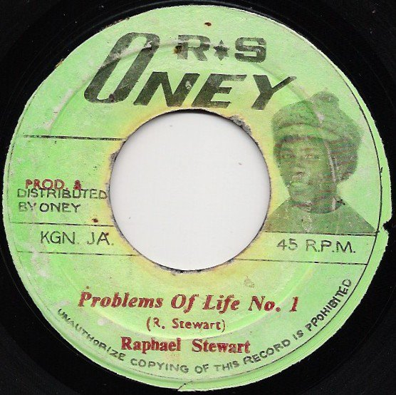 Raphael Stewart And The Hot Tops - Problems Of Life No.1