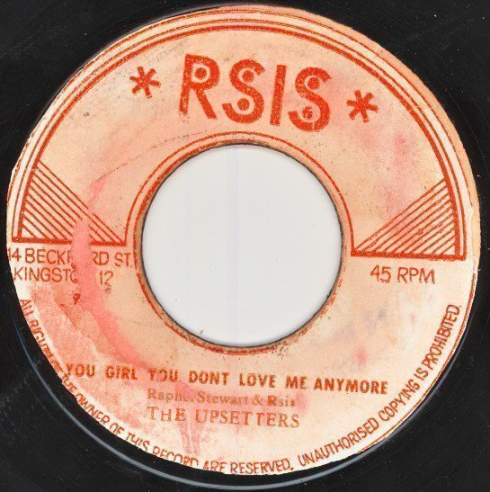 Raphael Stewart And The Hot Tops - You Girl You Don