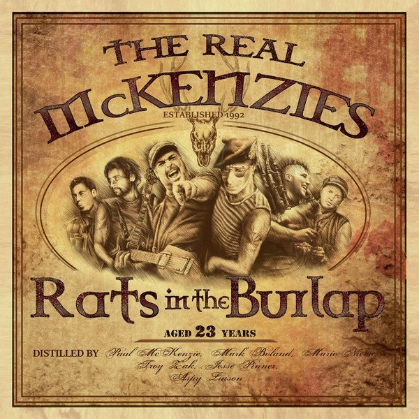 Real Mckenzies - Rats In The Burlap