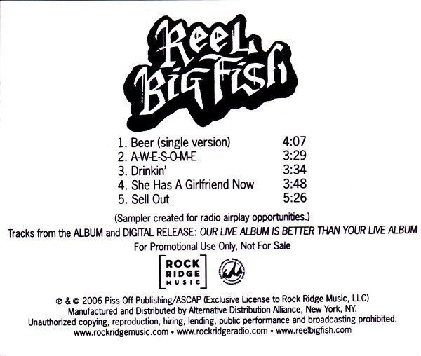 Reel Big Fish - Our Live Album Is Better Than Your Live Album