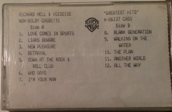 Richard Hell  The Vovoids - Greatest Hits