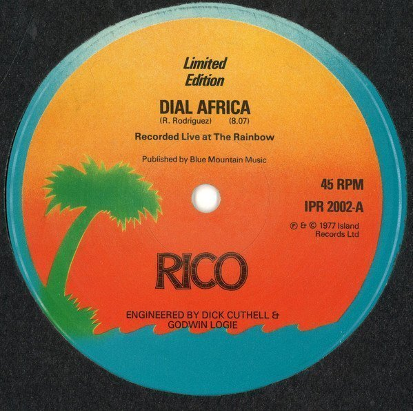 Rico Rodriguez - Dial Africa (Live) / Dial Africa (Dub)