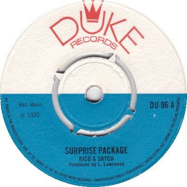 Rico Rodriguez - Surprise Package / I