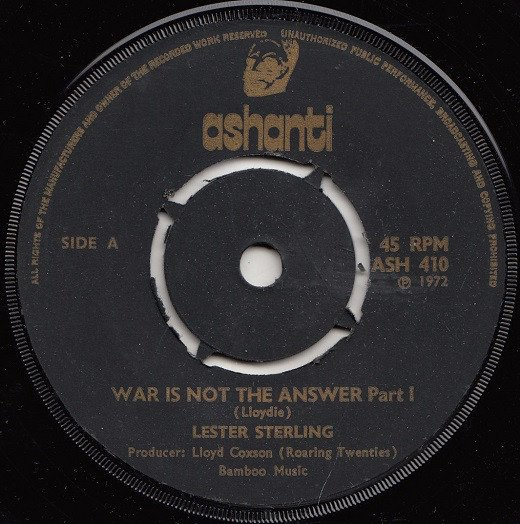 Rico Rodriguez - War Is Not The Answer