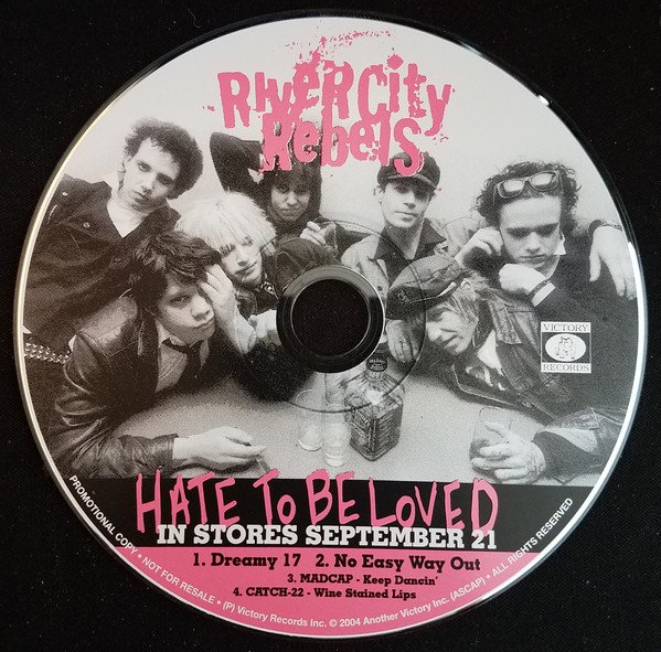 River City Rebels - Hate To Be Loved Promo