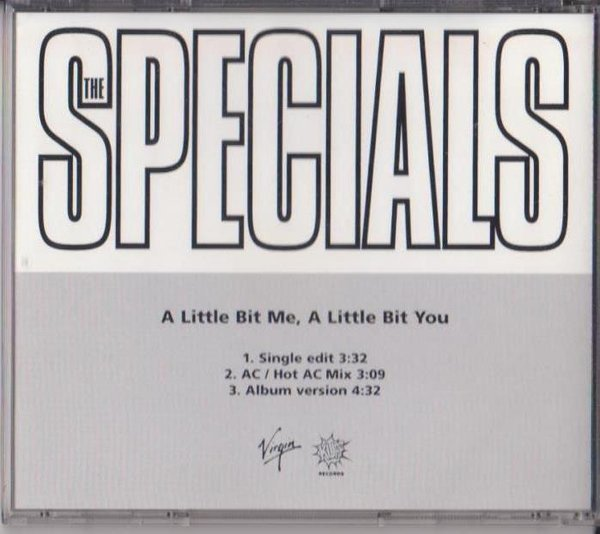 Roddy Radiation  The Specials - A Little Bit Me, A Little Bit You