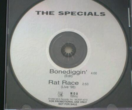 Roddy Radiation  The Specials - Bonediggin