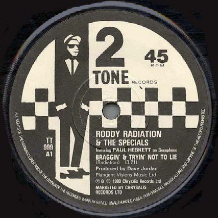 Roddy Radiation  The Specials - Braggin