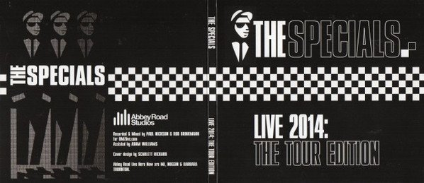 Roddy Radiation  The Specials - Live 2014: The Tour Edition