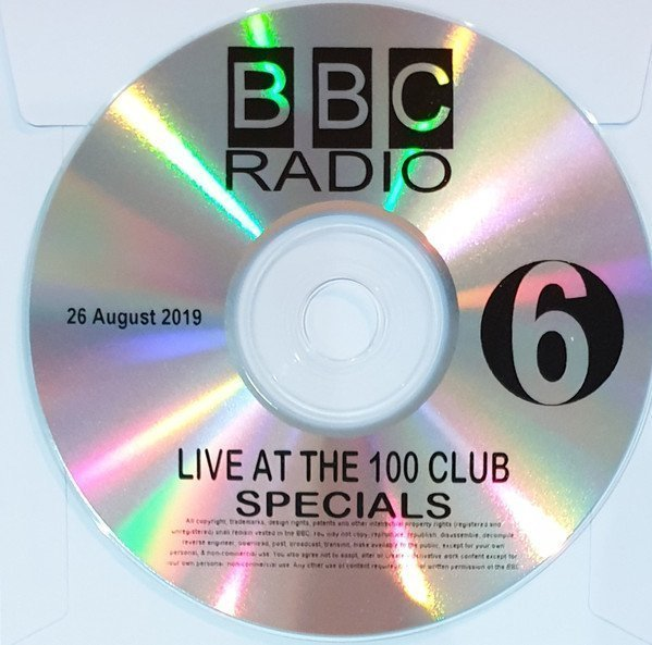 Roddy Radiation  The Specials - Live At The 100 Club