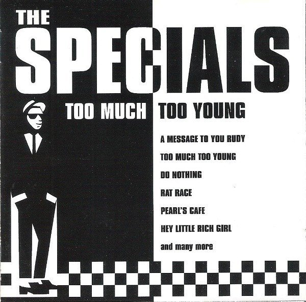 Roddy Radiation  The Specials - Too Much Too Young