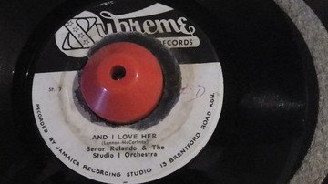 Roland Alphonso - And I Love Her / March Jamaicans March