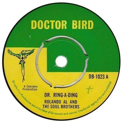 Roland Alphonso - Dr. Ring-A-Ding / Here Is My Heart