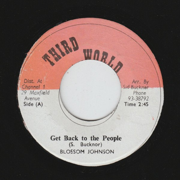 Roland Alphonso - Get Back To The People / Roland