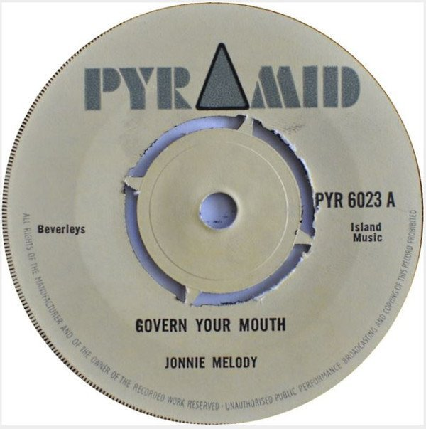 Roland Alphonso - Govern Your Mouth / Peace And Love