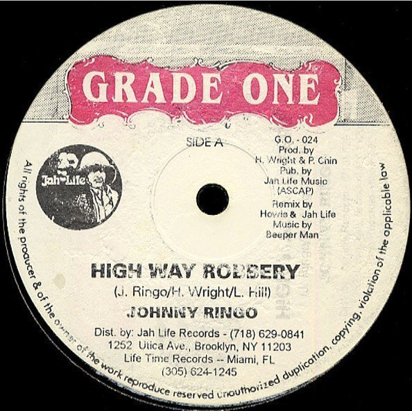 Roland Alphonso - Highway Robbery / All Night Long / Team Sound