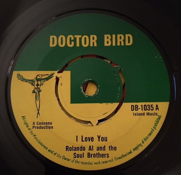 Roland Alphonso - I Love You / Song Of Love