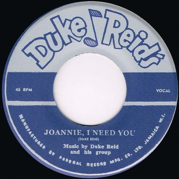 Roland Alphonso - Joannie, I Need You / You Can Depend On Me