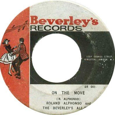 Roland Alphonso - On The Move