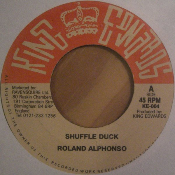 Roland Alphonso - Shuffle Duck / Love Not For Me
