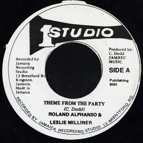 Roland Alphonso - Theme From The Party / New Lover